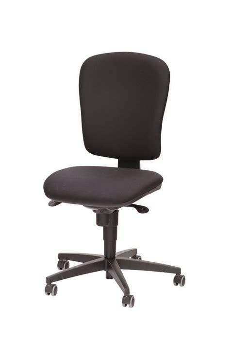 mobilier de bureau 974 chaise de bureau jump tissu noir sol dur