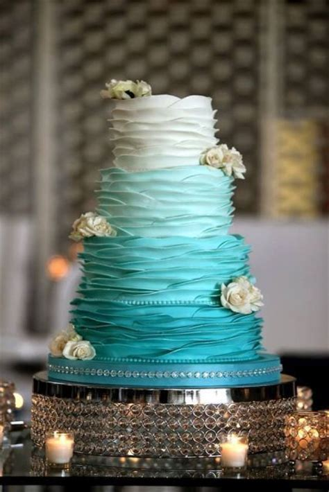 tiffany blue cakes ideas  pinterest aqua cake