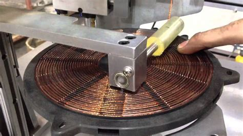 single layer induction cooker coil winding machine wd