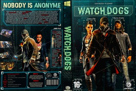 Watch Dogs Pc Box Art Cover By Sin