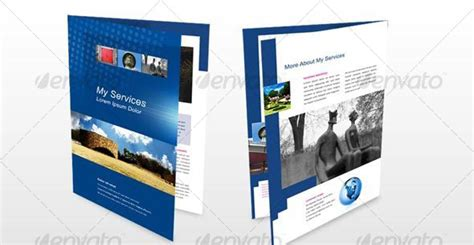 4 sided brochure template 50 business brochure templates template idesignow