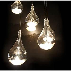 Arrow light tear drop shaped ceiling pendant in