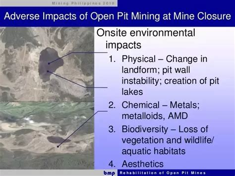 3 answers what impact does open pit mining has on the