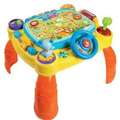 Stand Up Toys For Babies by Amazon Com Vtech Idiscover App Activity Table Toy Toys
