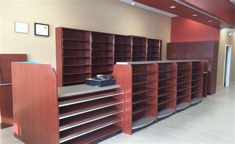 pharmacies store fixtures woodworking brampton