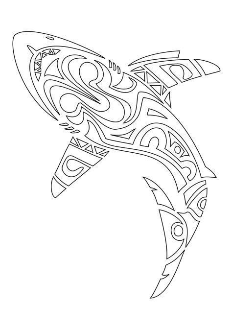 tattoos book   printable tattoo stencils shark