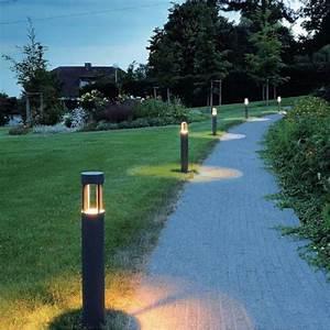 Luminaire De Jardin Exterieur : awesome plan eclairage exterieur jardin contemporary ~ Edinachiropracticcenter.com Idées de Décoration