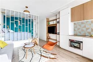 Petit Appartement Aprs Travaux Offre Un Cadre Moderne Et