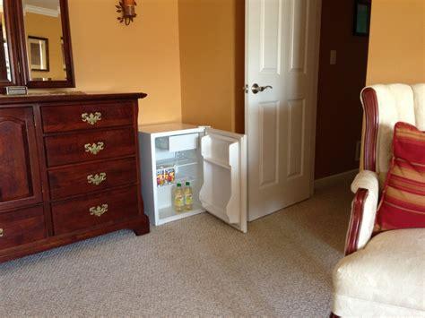 mini fridge for bedroom laziness idea i put our mini fridge in a corner of our 16193
