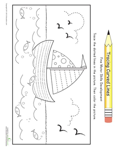 coloring pages tracing practice for preschool printable 196 | tracing practice for preschool printable workbook education com preschool workbook pages 1