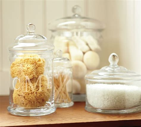 bathroom apothecary jar ideas vera 39 s appetite for creation my holidays a cabin by the