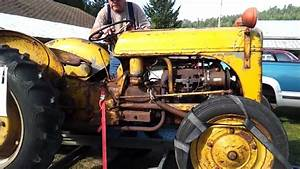 Starting A 1942 Ford 9n Tractor