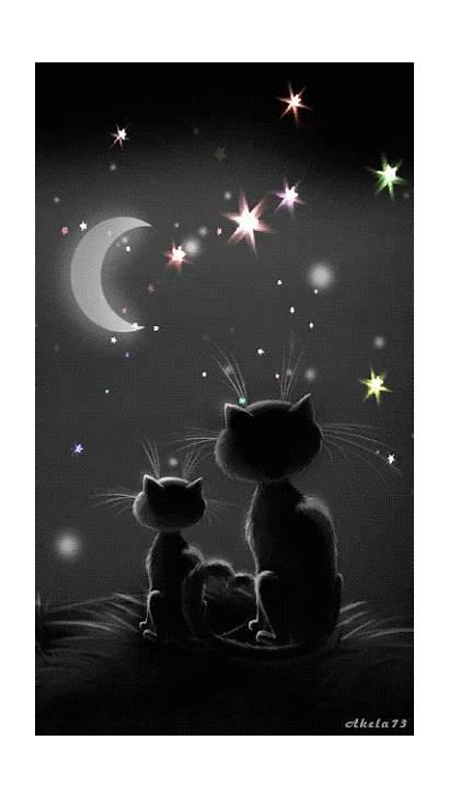 Sweet Dreams Night Cat Linda Gifs