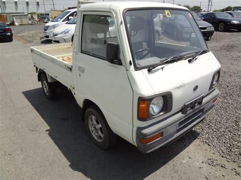 subaru sambar truck subaru sambar truck 4wd 1989 used for sale