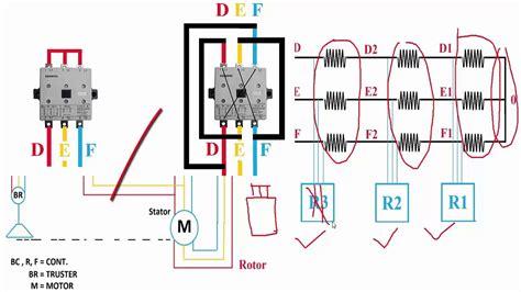 overhead crane or eot crane power diagram