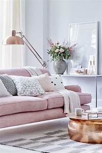 Table Basse Cuivre Rose : tendance d co le rose envahit la maison c t maison ~ Melissatoandfro.com Idées de Décoration
