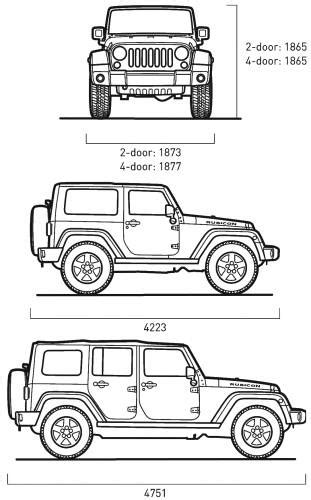 4 door jeep drawing need a diagram of a wrangler sport 2dr jeep wrangler forum
