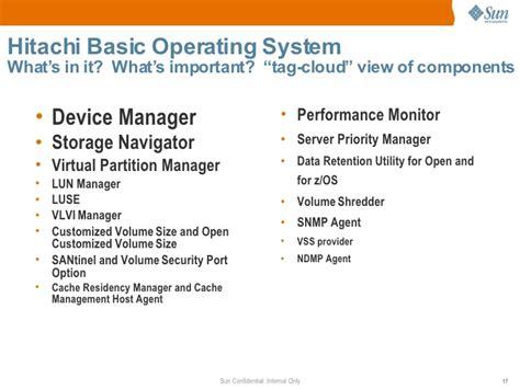 hds basic operating system