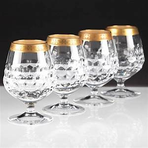 Mikrowelle Geschirr Glas : 4 cognacgl ser driburg kristall goldrand goldbord re bleikristall gl ser k80 sch ne ~ Watch28wear.com Haus und Dekorationen
