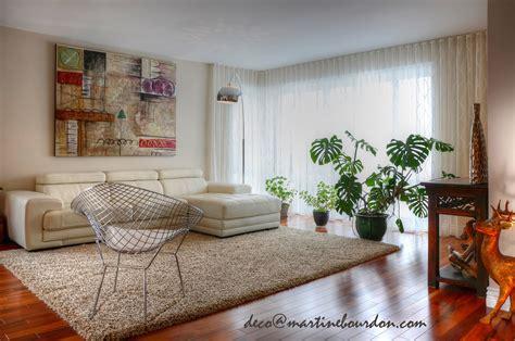 salon cuisine aire ouverte rideaux mur à mur un classique des plus contemporains