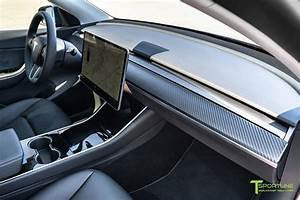 Tesla Model 3/Y Carbon Fiber Dash Panel – T Sportline - Tesla Model S, 3, X & Y Accessories