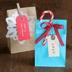 Santa Gift Bags Set of 3 Christmas Gift Bags Reusable by