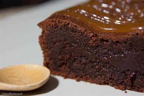 la cuisine de bernard fondant gateau chocolat caramel