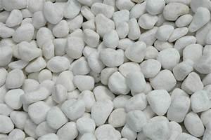 Galet Marbre Blanc : galet blanc 30 50 galet d coratif d covrac ~ Nature-et-papiers.com Idées de Décoration
