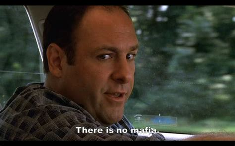Sopranos Meme - tony soprano reminding us of the old quote quot the loveliest trick of the devil is to persuade you