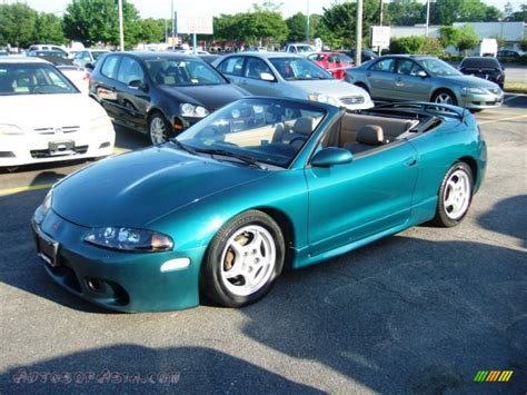 Green Mitsubishi Eclipse by 1997 Mitsubishi Eclipse Spyder Gs In Monarch Green Pearl