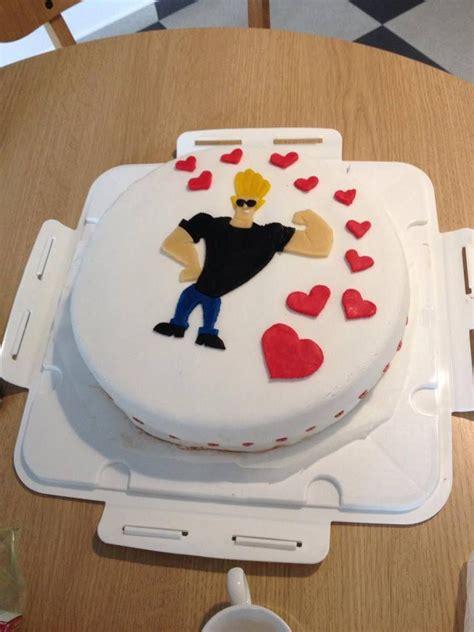 johnny bravo tortaim   cakes pinterest johnny
