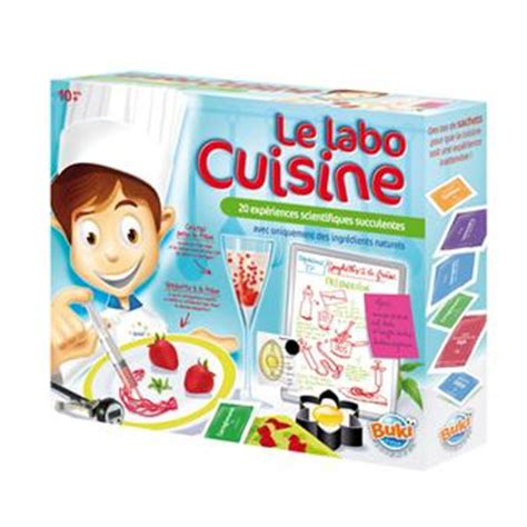 jeux de cuisine de de noel buki labo cuisine jeux scientifiques achat prix fnac