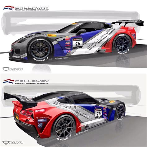 video callaway competition usa unveils racing livery
