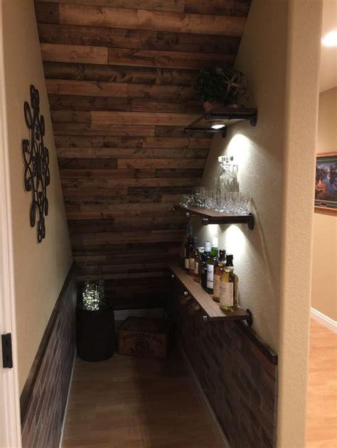 idea    basement stairs scotch  whiskey