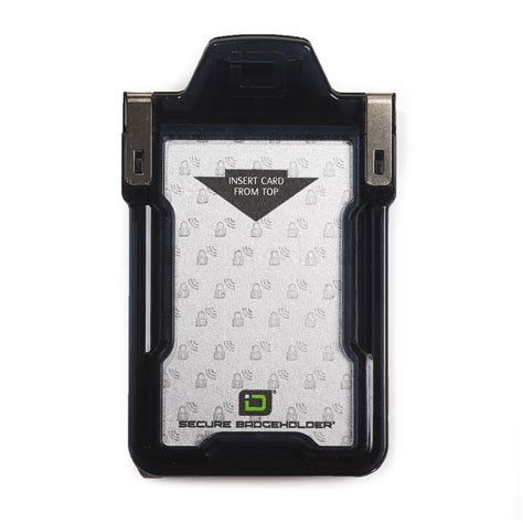 identity stronghold secure badgeholder classic