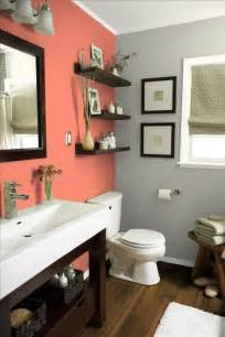 bathroom wall color ideas 30 grey and coral home décor ideas digsdigs