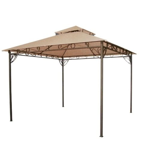 10x10 canopy cover replacement gazebo canopy replacement covers 10x10 pergola gazebo ideas