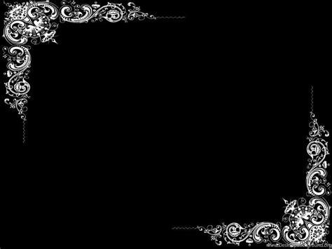 Border Wallpaper Desktop by Plain Black Wallpapers Border Hd Wallpapers Pretty Desktop