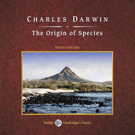 the origin of species audiobook by charles darwin