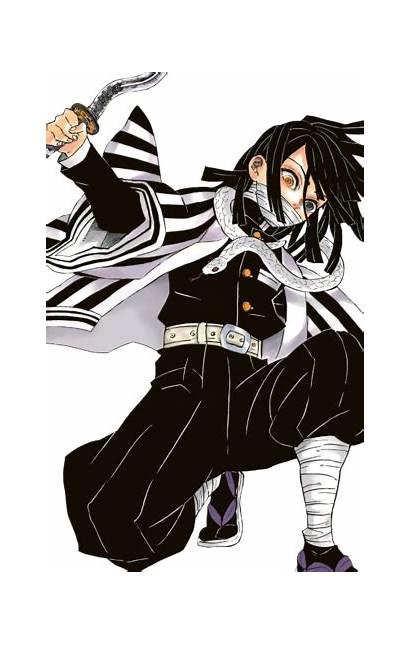 Iguro Manga Demon Obanai Slayer Anime Kimetsu