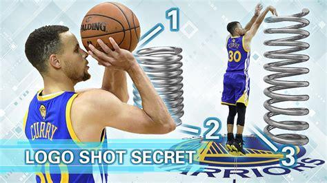 stephen curry  court logo shooting form secret