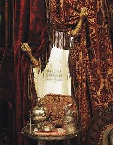 Victorian arm curtain pull back Home Pinterest