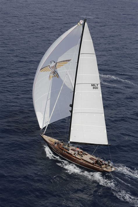 superyacht tempus fugit  sail yacht charter