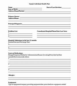 Sample health plan template 10 free documents in pdf word for Personal wellness plan template