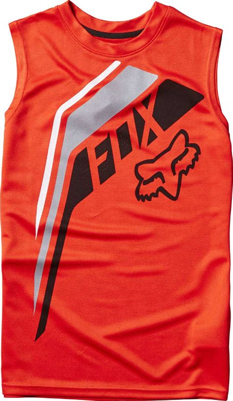 fox motocross shirt fox racing youth fowler tank top boys sleeveless