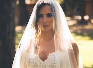demi lovato is a bride in teasers for 39tell me you love me With demi lovato wedding dress