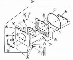 Speed Queen Ssg919wf Dryer Parts