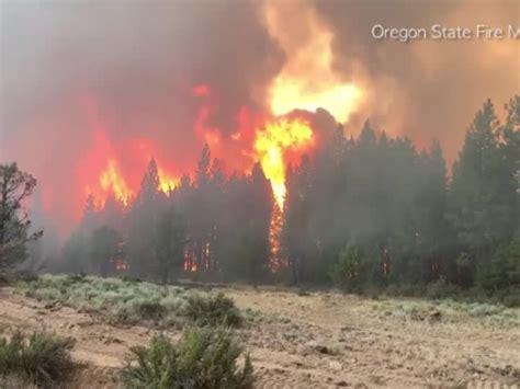 US West endures brutal heat wave as Oregon wildfire rages ...