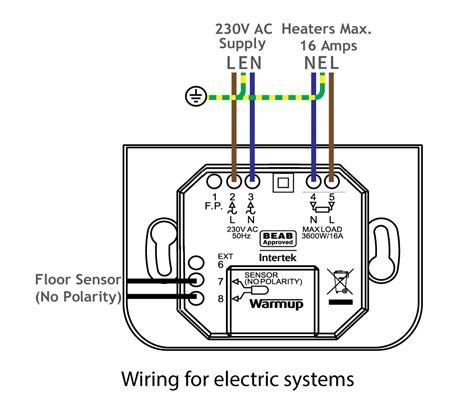 warmup  smart wifi thermostat onyx black