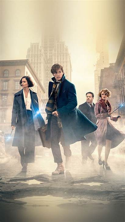 Fantastic Beasts Them Poster Iphone Wallpapers Plus